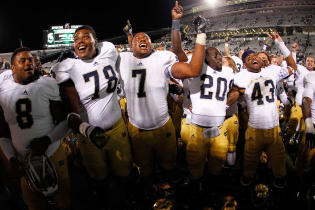 Notre Dame Football: Winners and Losers from the Season's First Month