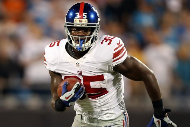 Ahmad Bradshaw: 3 Reasons NY Giants RB Should Be Scared of Andre Brown