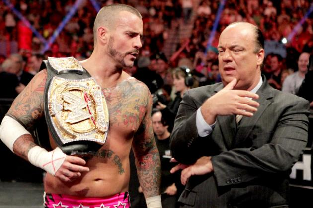 WWE: 5 Reasons CM Punk and Paul Heyman Are a Perfect Match