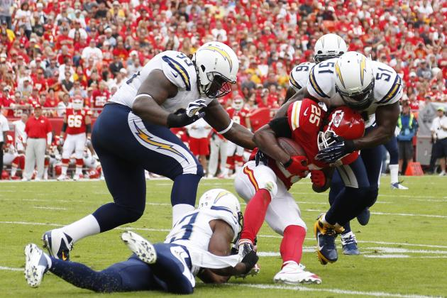 Grading Kansas City Chiefs' Positional Units at the First Quarter Mark
