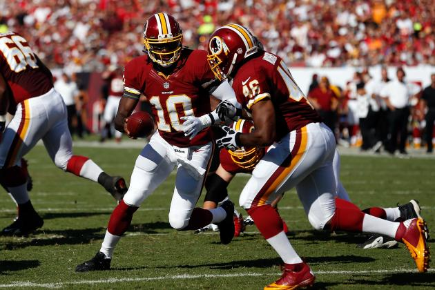 Washington Redskins: Rookie Progress Report