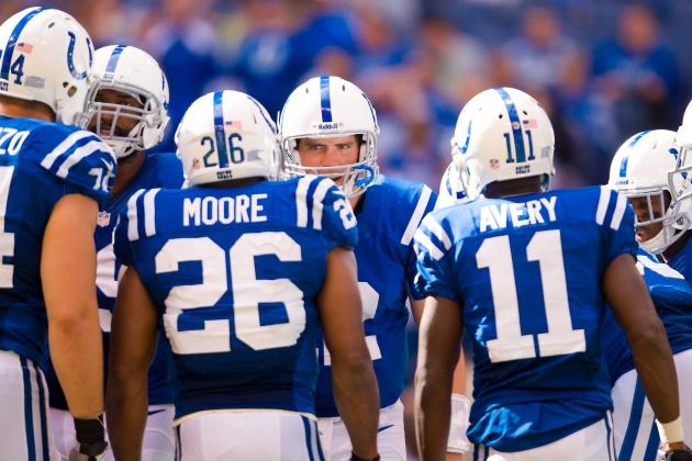 Grading Indianapolis Colts' Positional Units at the First-Quarter Mark