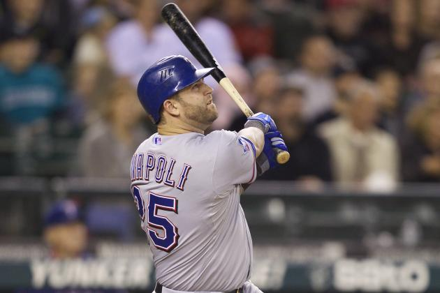 3 Reasons Mike Napoli Is Texas Rangers' Best Catching Option for Now