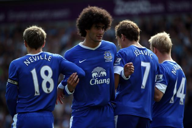 Marouane Fellaini: 6 Reasons Everton's Star Player Won't Be Leaving in January