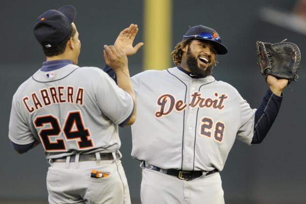 How the Detroit Tigers Lineup Matches Up with the Yankees Pitching Staff