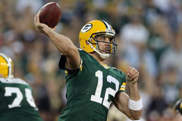 Aaron Rodgers and 9 Other NFL Studs Who Will Soon Erupt