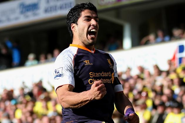 Luis Suarez and the English Premier League Players of the Week