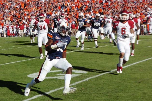 Arkansas Razorbacks vs. Auburn Tigers: Complete Game Preview