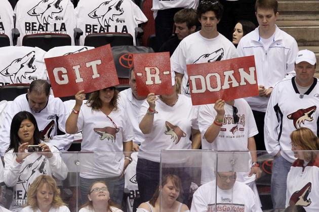 2012-13 San Jose Sharks Go to Plan B as Shane Doan Stays with Phoenix Coyotes