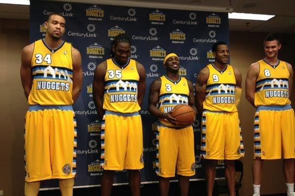 Ranking the Best New NBA Jerseys for the 2012-13 Season
