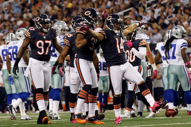 Chicago Bears: Top Five Performers in Last Night's Victory over Dallas