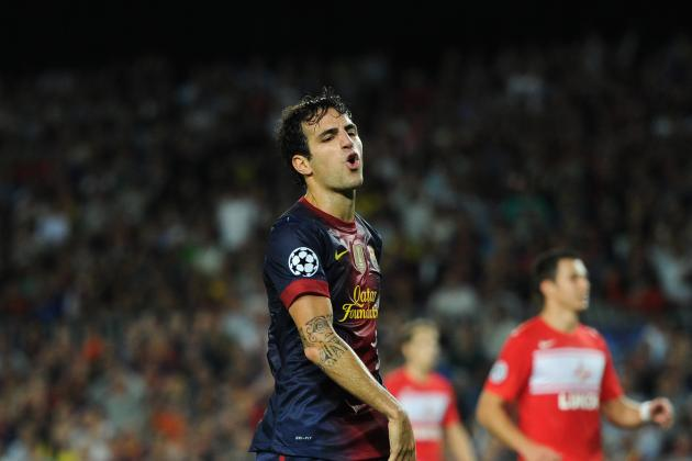 FC Barcelona: 4 Reasons Why Cesc Fabregas Could Be Sold This Year
