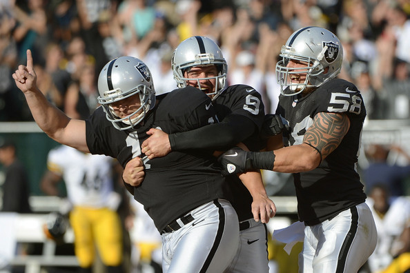 Grading the Oakland Raiders' Positional Units at the First Quarter Mark