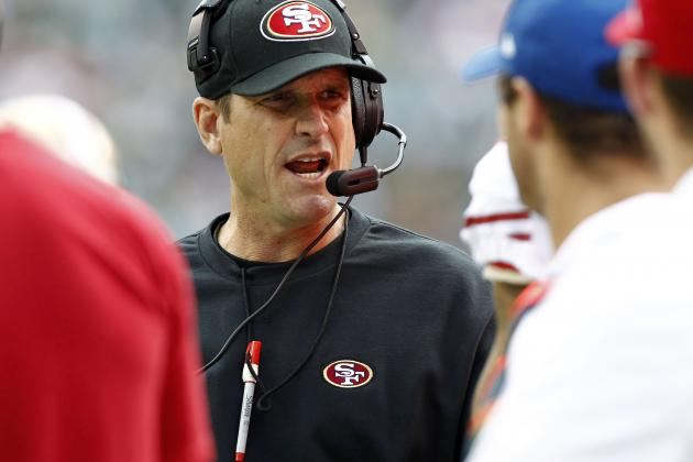 3 Things San Francisco 49ers' Coach Jim Harbaugh Will Learn from Early Loss