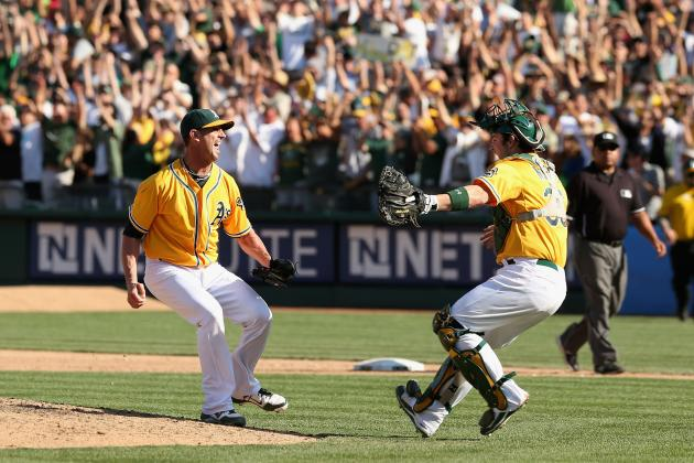 Comparing the 2012 Athletics' Wild Comeback to the 'Moneyball' Season