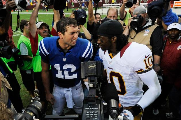 Andrew Luck vs. Robert Griffin III: Is There Really a Loser in This One?