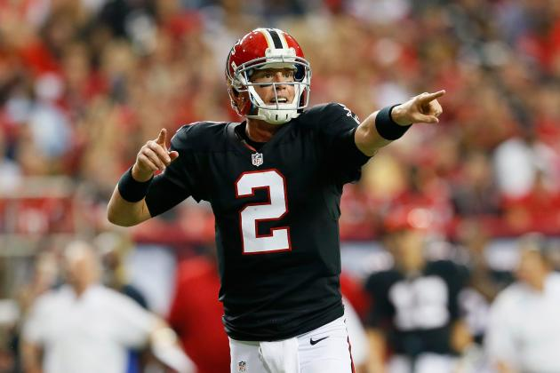 5 Reasons Atlanta Falcons' Matt Ryan Is Top QB in NFC South Thus Far