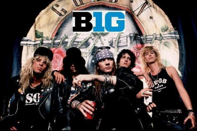 Big Ten College Football Power Rankings Featuring Guns and Roses