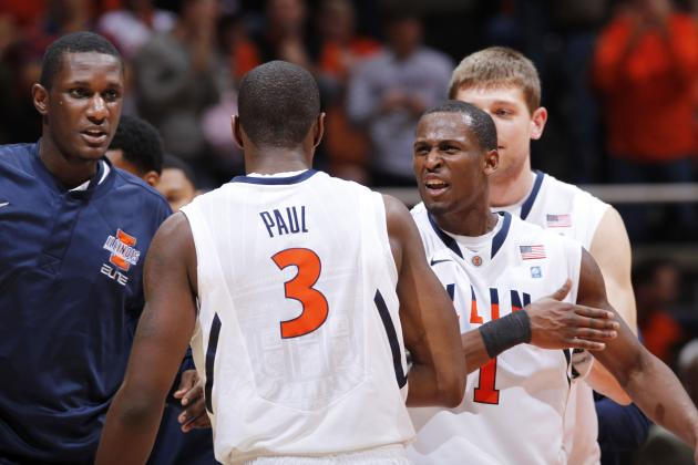 Illinois Basketball: Ranking the Team's 13 Players in Order