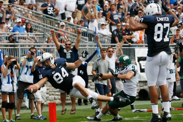 Penn State Football: Ranking the 5 Biggest Surprises of the 2012 Season so Far