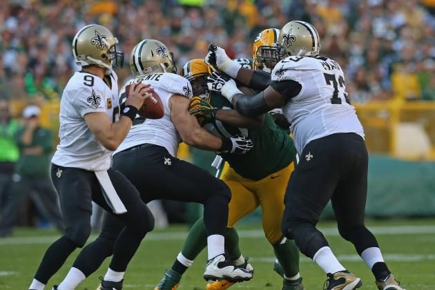 Grading New Orleans Saints' Positional Units at the 2012 NFL First Quarter Mark