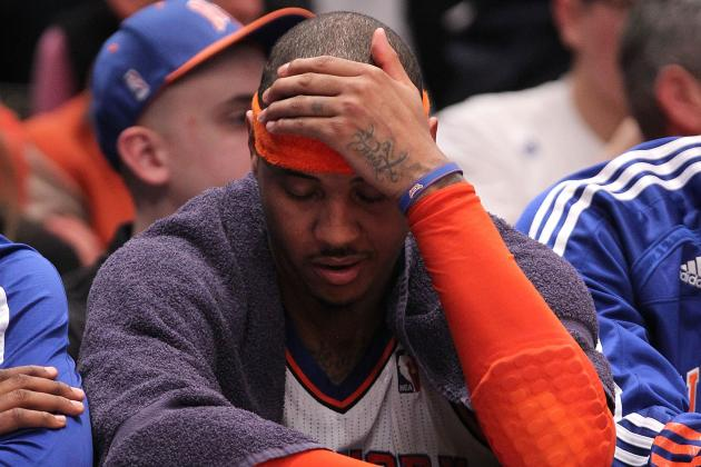 Carmelo Anthony and 5 Other Top NBA Players Plagued with Soft Defensive Reps