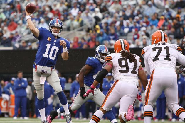 Browns vs. Giants: Final Report Card, Player Grades for New York