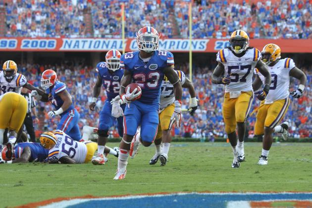 Florida Gators Football: 10 Things We Learned from Win vs. LSU Tigers