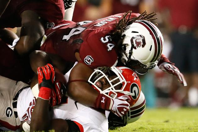 Georgia Football: 10 Things We Learned from the Bulldogs Loss vs. S. Carolina