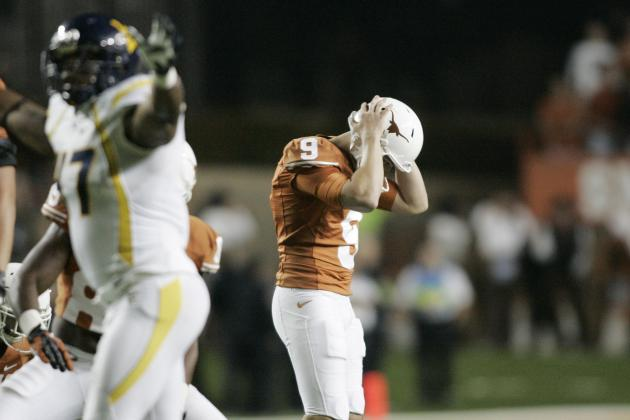 Texas Football: Grading All 22 Starters from the West Virginia Game