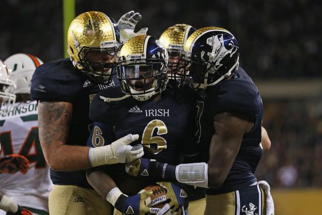 Notre Dame Football: Grading All 22 Starters from the Miami Game