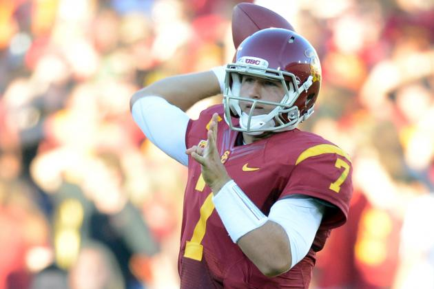 USC Football: Comparing Matt Barkley's 2012 to Carson Palmer's Heisman Year