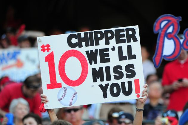 Chipper Jones: Notable Moments of His Final Season