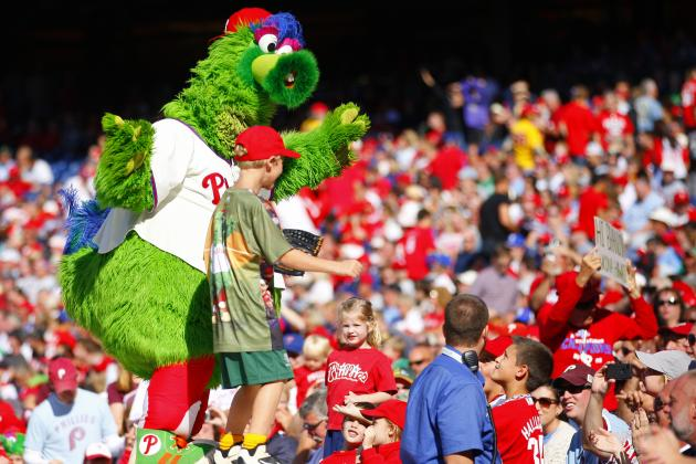 20 Best Bloopers of the 2012 Philadelphia Phillies' Season