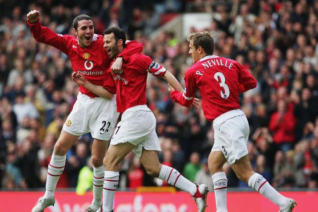 A Team of Ex-Manchester United Players in the English Premier League