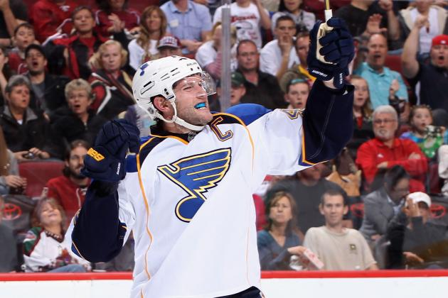 St. Louis Blues: David Backes and the 10 Best Captains in Blues History