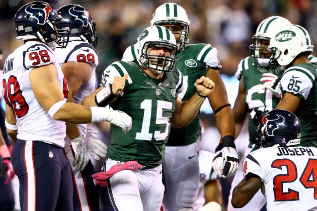 Tim Tebow: Breaking Down Every Snap New York Jets QB Took Against Houston Texans