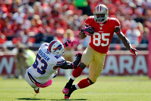 San Francisco 49ers: Early Team Awards After Week 5 of 2012 Season