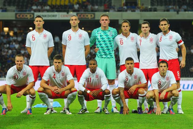 FIFA Worldcup 2014: 5 Potential Starting Lineups for England Against San Marino