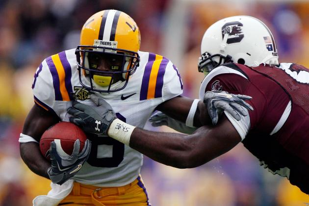 LSU Tigers Football: 5 Keys to the Game vs. South Carolina Gamecocks