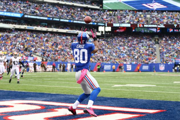 New York Giants: 3 Reasons Victor Cruz Has Become Eli Manning's Go-to WR