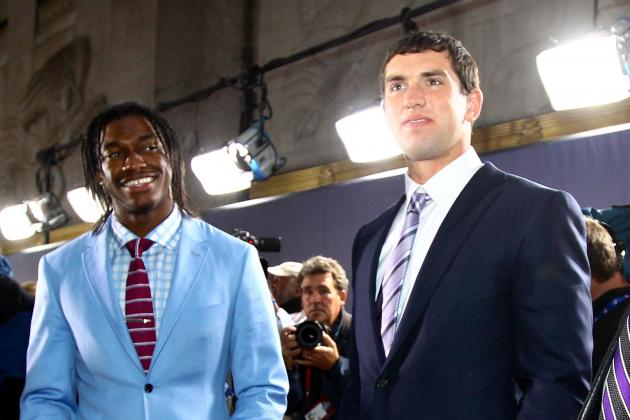NFL Rookie Watch: RG3 or Luck?
