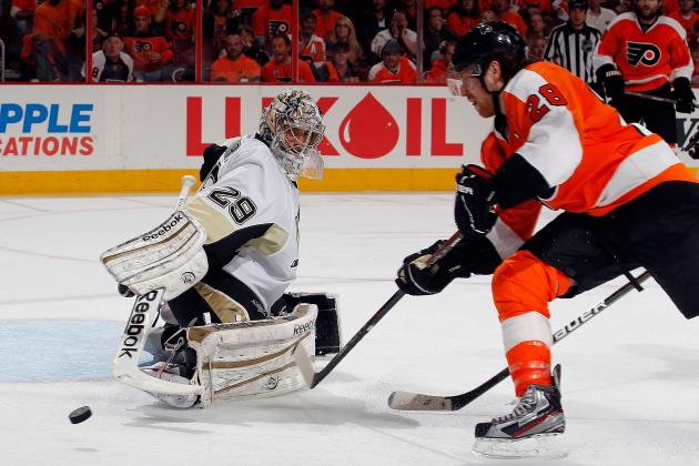 Philadelphia Flyers: Ranking the Flyers' Top Scoring Threats in 2012-13