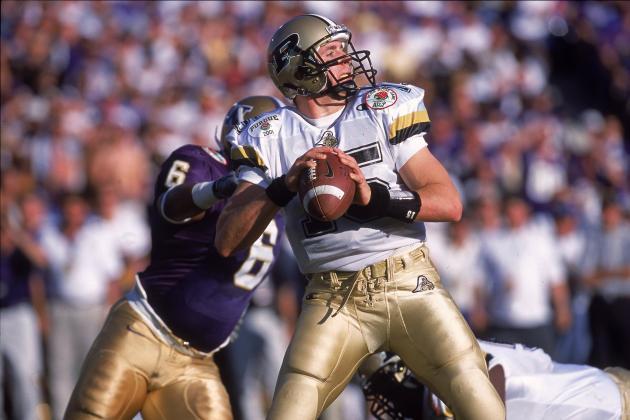 Drew Brees Purdue Rose Bowl Drew Brees Purdue 1997 2000