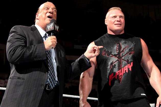 WWE: Why Brock Lesnar Needs Paul Heyman