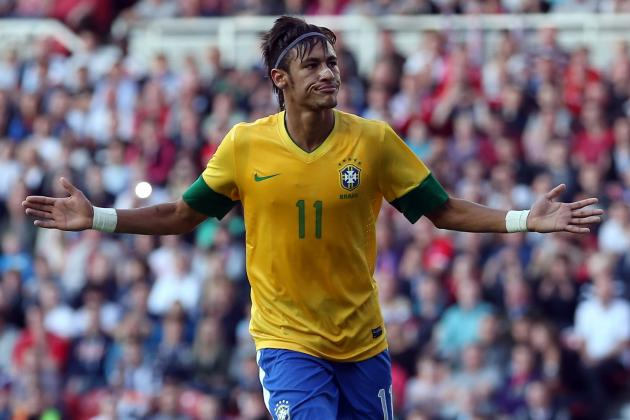 Power Ranking Neymar and the 6 Most-Hyped Brazilians in Football