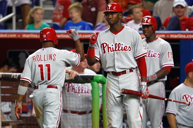 Each Philadelphia Phillies Player's Greatest Tool from 2012