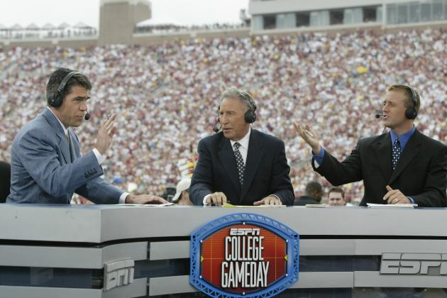 Notre Dame Football: A History of ESPN's College GameDay in South Bend