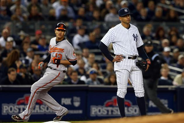 2012 ALDS: 6 Yankees Who Must Come to Play in Game 5 vs. Orioles