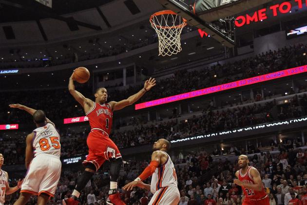 Derrick Rose: Top 10 Dunks of the Windy City Assassin